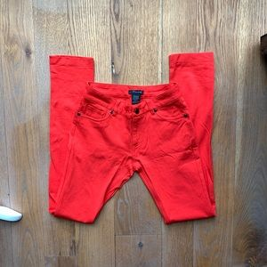 ❤️Timing red pants